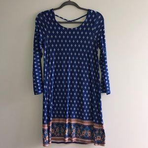 Loveapella Stitch Fix L/S Cross Back Dress